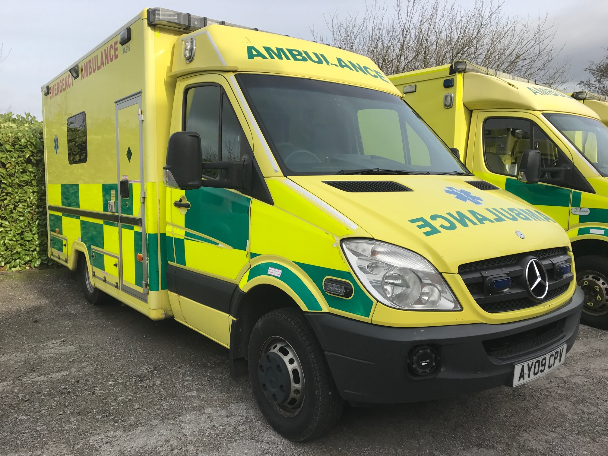 UK Ambulance Auctions, Sales and Hire